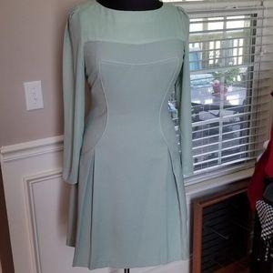 Antonio Melani Green Dress Sz 12